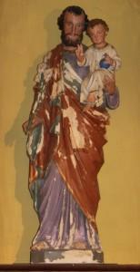 Statue Saint Joseph avant