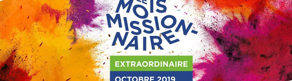 Octobre 2019 : Mois missionnaire extraordinaire