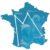 Notre-Dame de France, la vierge pèlerine, passe à Versailles les 18 et 19 août