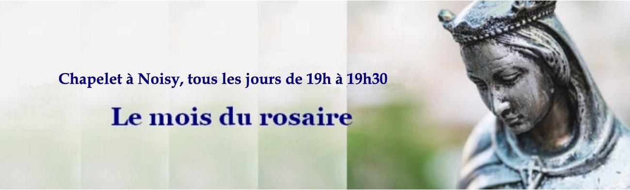 Octobre, le mois du rosaire